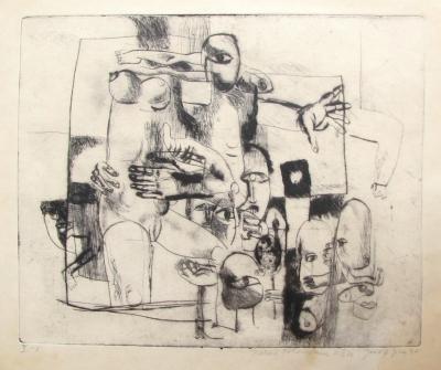 Jíra Josef (1929 - 2005) : Memento mori