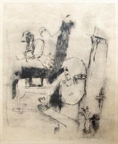 Jíra Josef (1929 - 2005) : Člověk a kůň