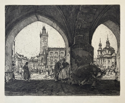 Vondrouš Jan Charles (1884 - 1970) : Staroměstské náměstí