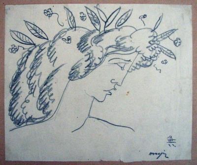Horejc Jaroslav (1886 - 1983) : Hlava bohyně