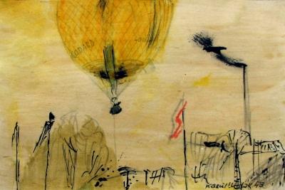 Lhoták Kamil (1912 - 1990) : Startující balon