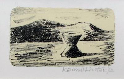 Lhoták Kamil (1912 - 1990) : Stroj pouště