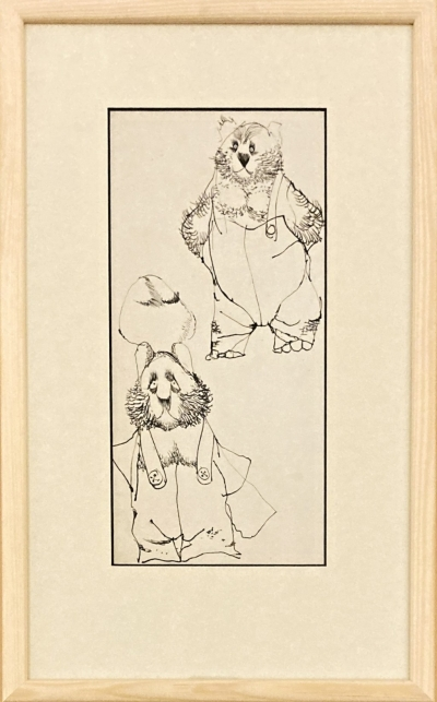 Trnka Jiří (1912 - 1969) : Dva medvědi
