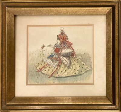 Uprka Joža (1861 - 1940) : Děvčátko v kroji