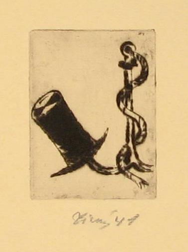 Tichý František (1896 - 1961) : Ilustrace k básním F. Bárty