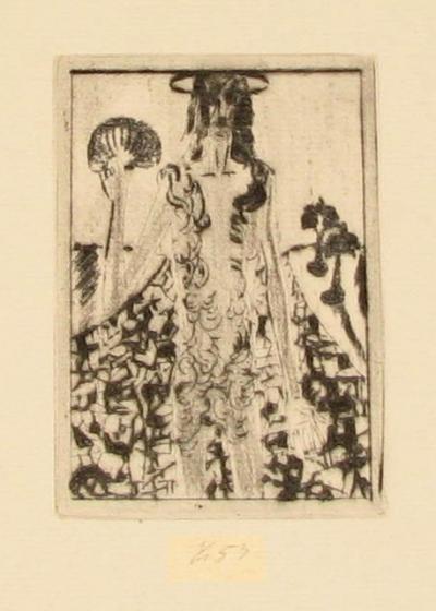 Tichý František (1896 - 1961) : Ilustrace k Seifertově básni Vltava