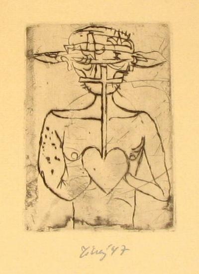 Tichý František (1896 - 1961) : Ilustrace k Villonově závěti I.