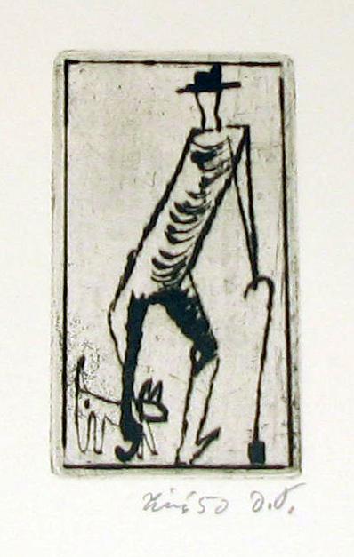 Tichý František (1896 - 1961) : Dědek se psem