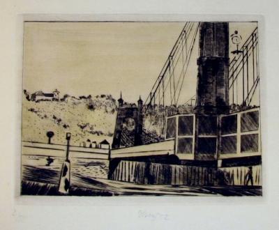 Tichý František (1896 - 1961) : Řetězový most II.