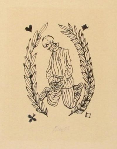 Tichý František (1896 - 1961) : Kostlivec