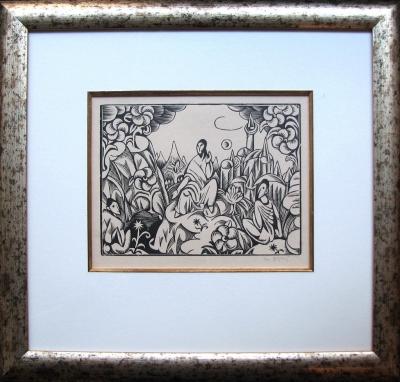 Zrzavý Jan (1890 - 1977) : Kázání květinám