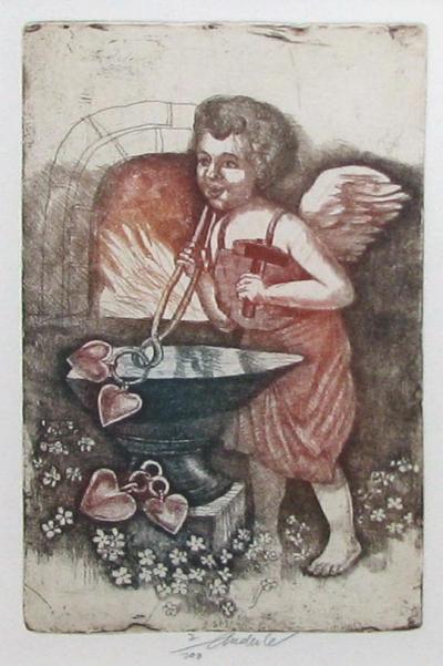 Anderle Jiří (1936) : Kovář andělíček