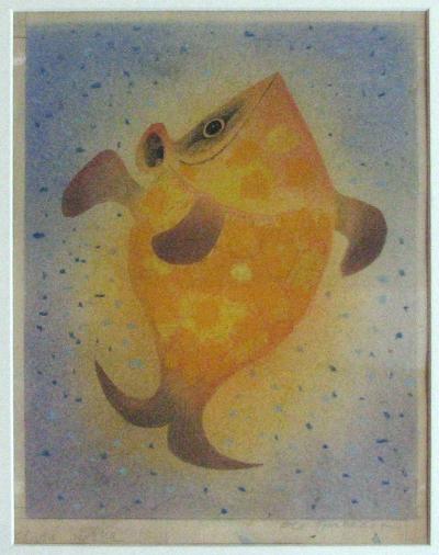Janeček Ota (1919 - 1996) : Zlatá rybka