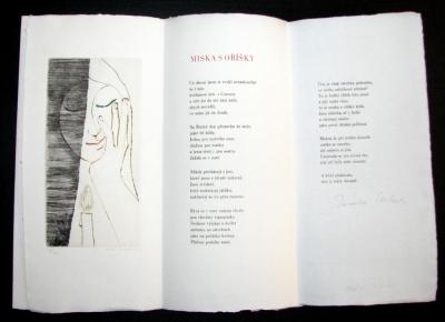 Janeček Ota (1919 - 1996) : Miska s oříšky