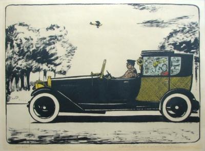 Lhoták Kamil (1912 - 1990) : Automobil