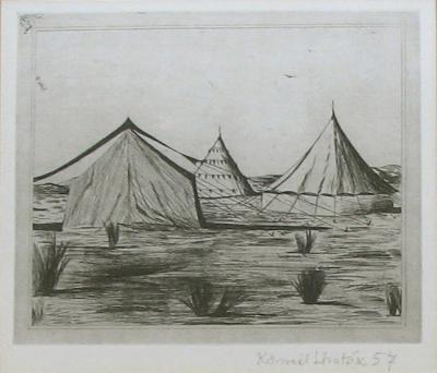 Lhoták Kamil (1912 - 1990) : Cirkusové stany