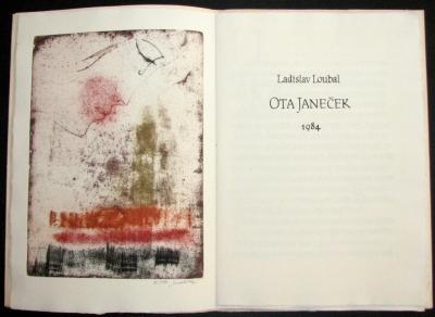 Janeček Ota (1919 - 1996) : bibliofilie