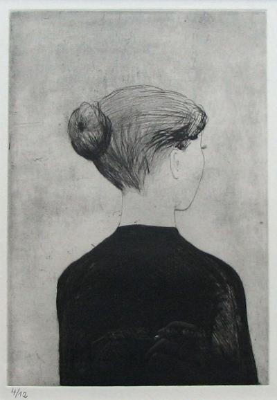 Lhoták Kamil (1912 - 1990) : žena v černém