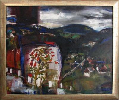 Jíra Josef (1929 - 2005) : Kozákov s šípkem
