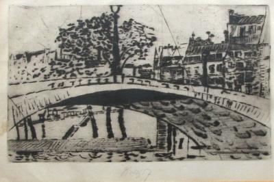 Tichý František (1896 - 1961) : Most Sully