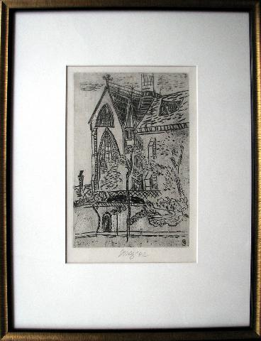 Tichý František (1896 - 1961) : Kostel St. Germain de la Gare v Paříži