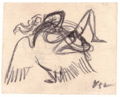 Tichý František (1896 - 1961) : Leda s labutí