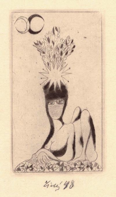Tichý František (1896 - 1961) : Sfinga