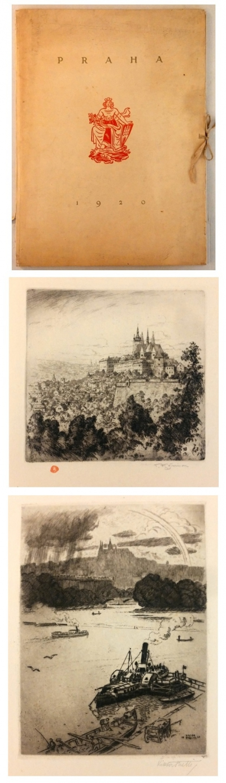 Bibliofilie I.  : Praha 1920 - 6 orig. leptů
