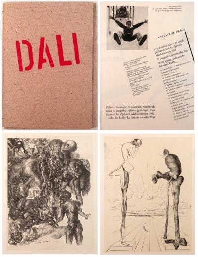 Bibliofilie I.  : Salvador Dalí - katalog k výstavě v Galerii D v Praze