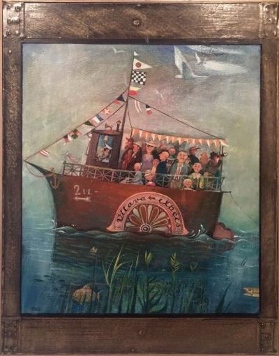 Kindler Alfréd (1925) : Výletní loď Vltava expres