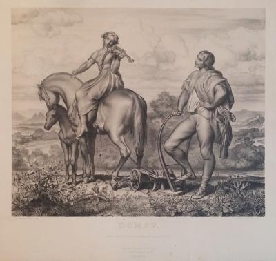 Mánes Josef (1820 - 1871) : Domov