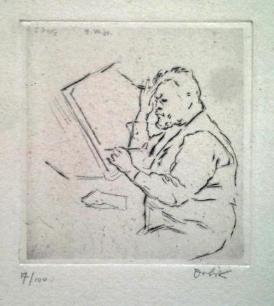 Orlik Emil (1870 - 1932) : Max Slevogt