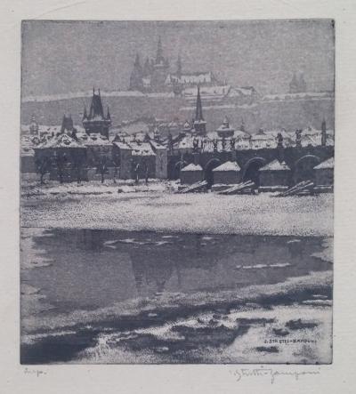 Stretti - Zamponi Jaromír (1882 - 1959) : Pražský hrad