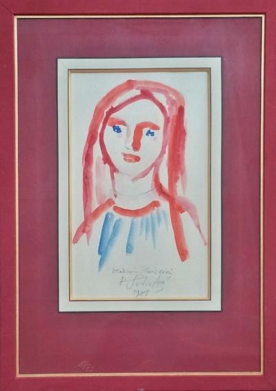 Svolinský Karel (1896 - 1986) : Dívčí hlava