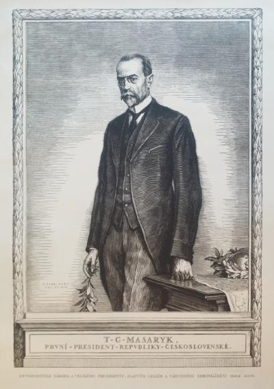 Švabinský Max (1873 - 1962) : T.G. Masaryk