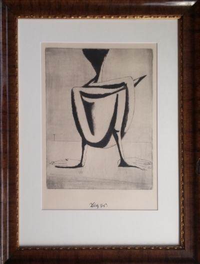 Tichý František (1896 - 1961) : Žabí muž (II. stav)