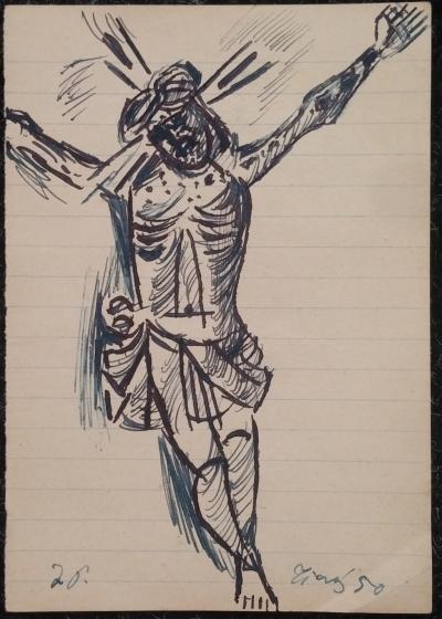 Tichý František (1896 - 1961) : Ježíš Kristus