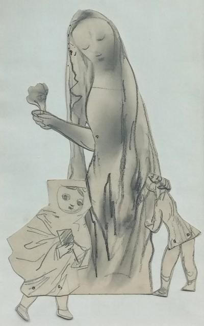 Trnka Jiří (1912 - 1969) : Koláž ze skic