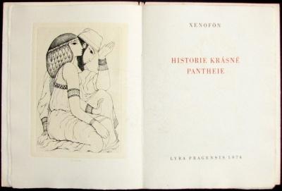 Bibliofilie I.  : Xenofón, historie krásné Pantheie