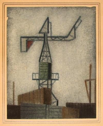 Beneš Vlastimil (1919 - 1981) : Jeřáb
