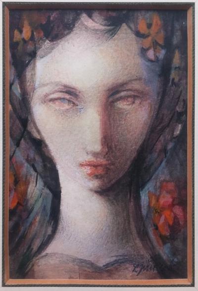 Jiřincová Ludmila (1912 - 1994) : Podzimní hlavička