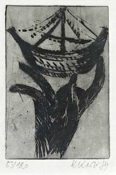 Klápště Jaroslav (1923 - 1999) : konvolut 4 grafik