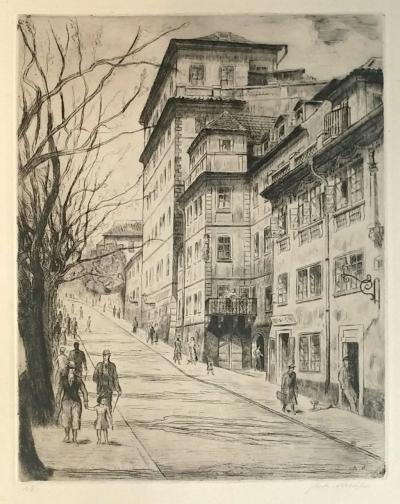 Majer Antonín (1882 - 1963) : Úvoz