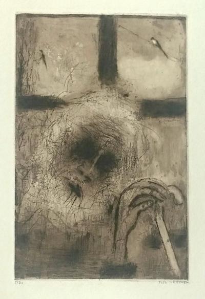 Reynek Bohuslav (1882 - 1971) : Slepý Tobiáš