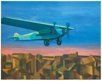Střížek Antonín (1959) : Letadlo