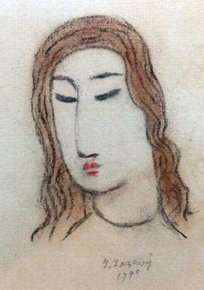Zrzavý Jan (1890 - 1977) : Hlava dívky