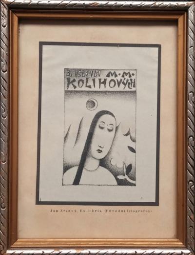 Zrzavý Jan (1890 - 1977) : Ex libris Kolihových