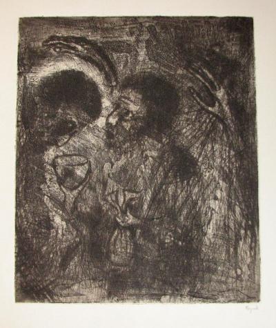 Reynek Bohuslav (1882 - 1971) : Jidášův polibek