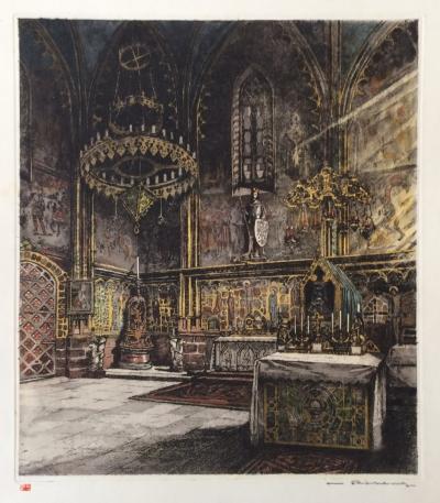 Röhling Vladislav (1878 - 1949) : Svatováclavská kaple